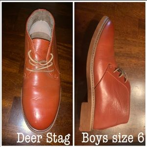 Deer Stag Boys dress boot size 6